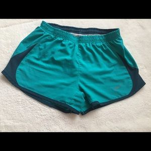 Teal blue Nike shorts. Size:XS